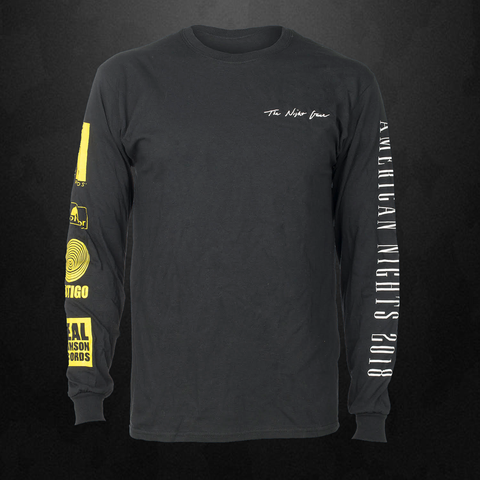 The Night Game 2018 Black Long Sleeve