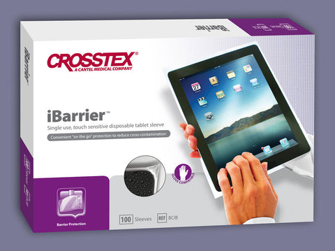 Promotional, imprinted iBarrier sleeve for the iPad