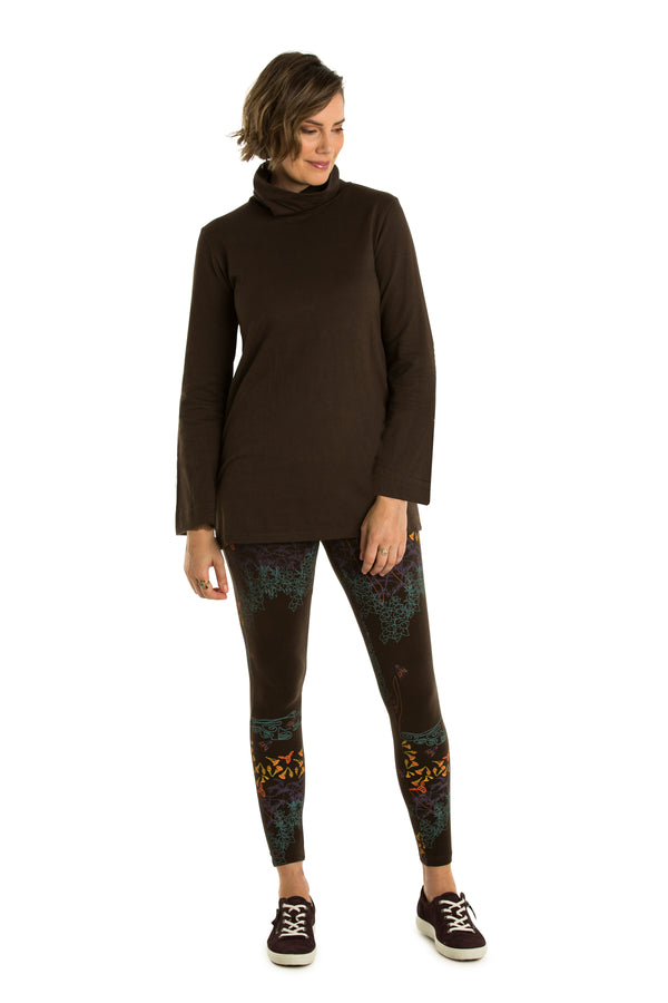 Turtle Neck Jumper : bamboo and organic cotton :