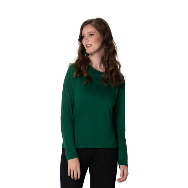 Vneck Top - Long Sleeved Top