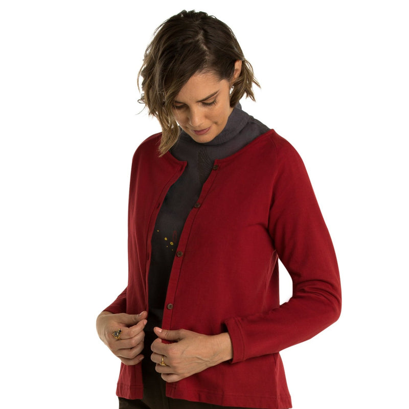 Bamboo Cardigan - Fleece
