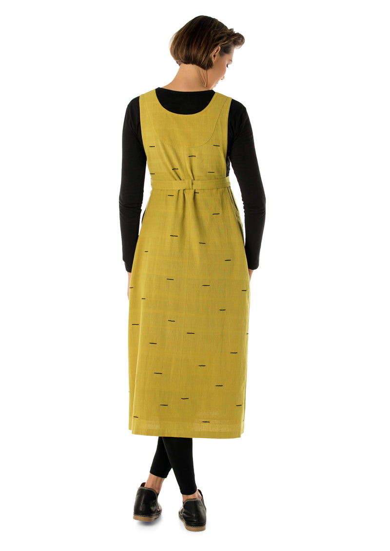 Longer Pinafore Dress