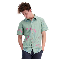 Mens Short Sleeve Fitted Shirt Organic cotton