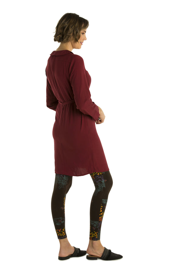 Collared Winter Dress - Pre Order