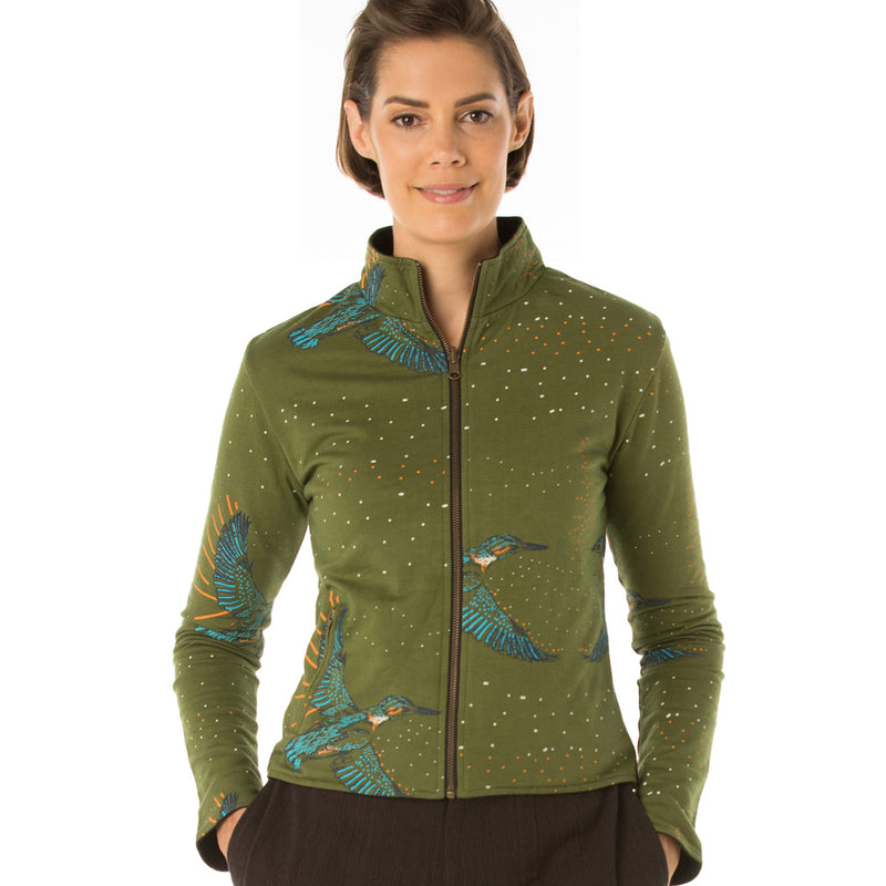 Reversible Bamboo Fleece Jacket