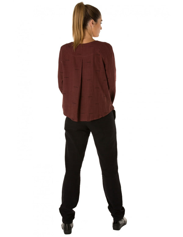 Wide Band Tapered Leg Pant