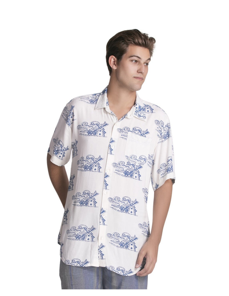 Printed Bamboo Shirt -Sale