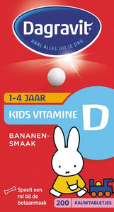 Dagravit Kids Vit D Tabletten