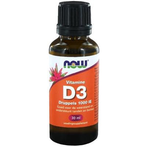 Now Vitamine D3 1000 Ie Druppels