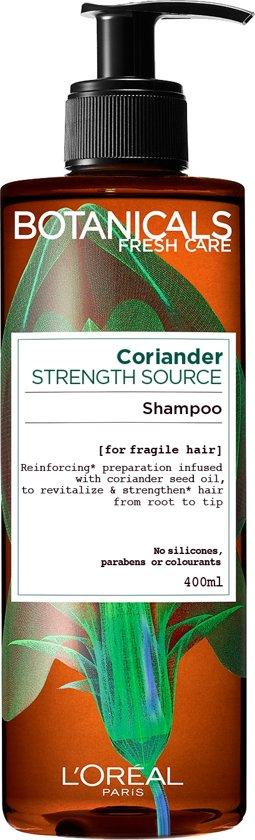 Botanicals Shampoo 400 ml Coriander strength