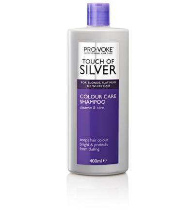 Pro:voke Shampoo 400 ml Touch of Silver