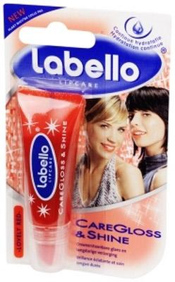 Labello Caregloss & Shine L. Red Blister