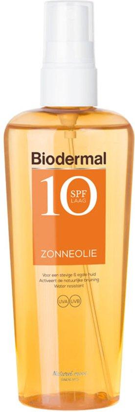 BIODERMAL ZONNESPRAY OLIE F10