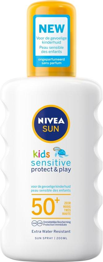 Nivea Sun Kids Protect&Sensitive Spray F50+