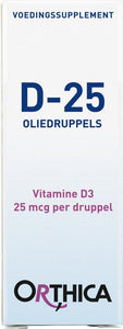 Orthica D-25 Oliedruppels