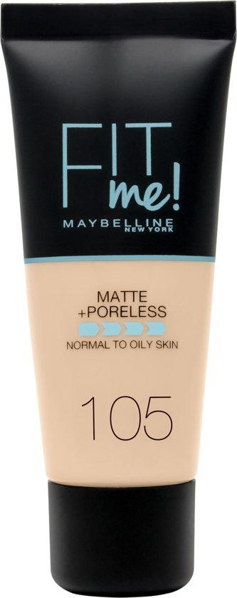 Maybelline Foundation Matte Fit Me 105