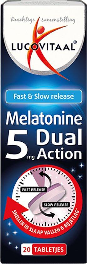 Lucovitaal Melatonine Dual Action 5 Mg