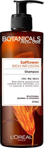 Botanicals Shampoo 400 ml Safflower Rich