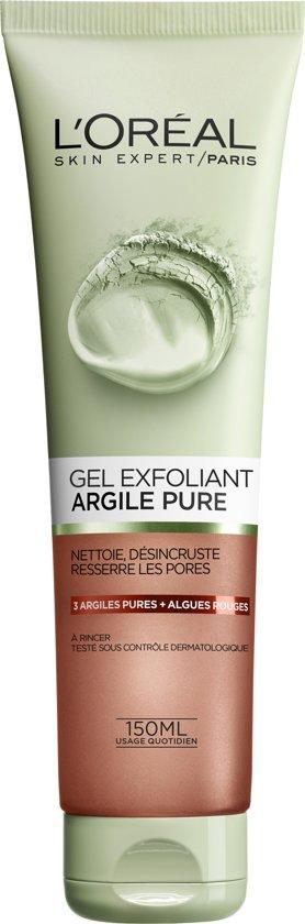 L'Oreal Skin Pure Clay Gel 150 ml Exfoli