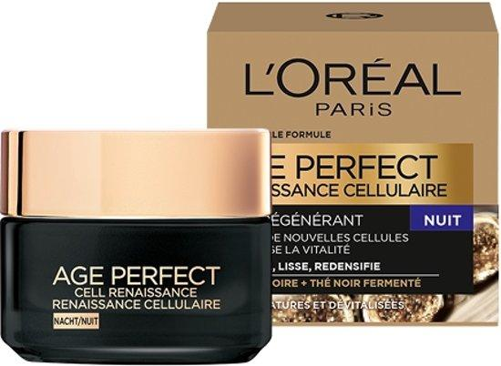 L'Oréal Paris Age Perfect Cell Renaissance Nachtcrème - 50 ml - Verstevigend