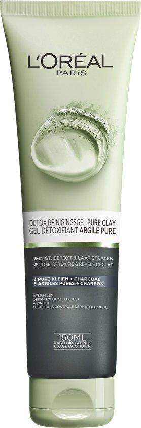 L'Oreal Skin Pure Clay Gel 150 ml Detox