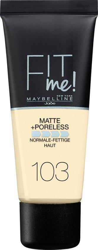 Maybelline Foundation Matte Fit Me 103