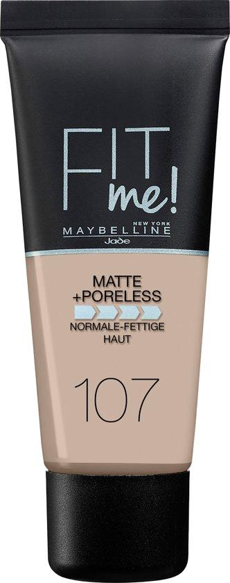 Maybelline Foundation Matte Fit Me 107
