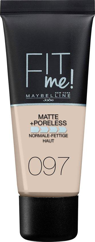 Maybelline Foundation Matte Fit Me 97