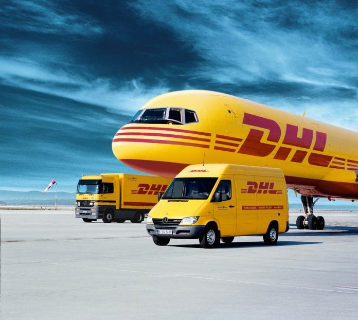 Announcing partnership with DHL