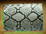 Faux-Leather Sticker /Snake Skin (Gray)