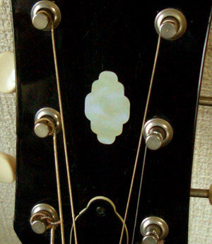 Cloud Head Inlay Stickers Decals Headstock