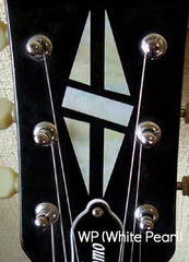 Diamond Hatch  Inlay Stickers Decals Headstock Peghead