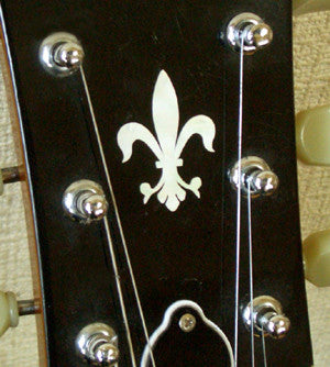 Fleur de Lys Inlay Stickers Decals Headstock Peghead