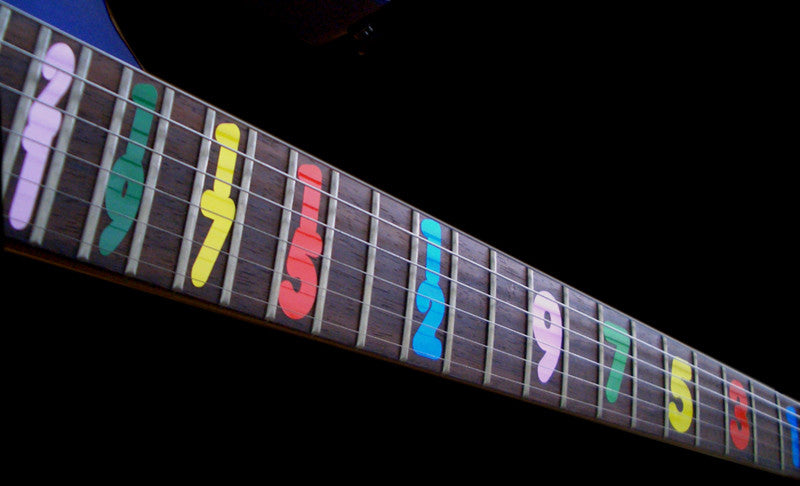 Jason Becker / Numerals - Inlay Stickers Jockomo