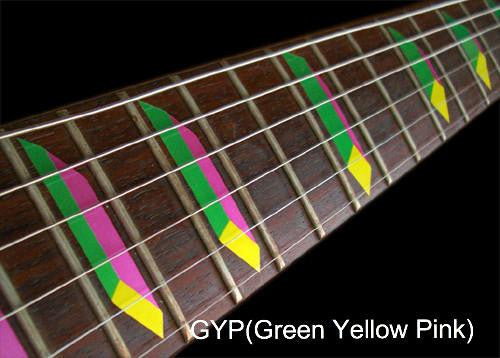 Pyramid Steve Vai - Fret Markers Inlay Stickers for Guitars & Bass - Inlay Stickers Jockomo