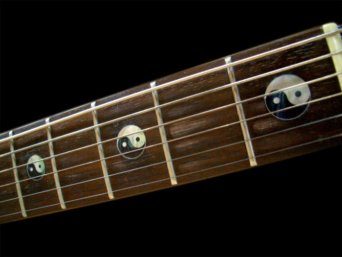 Yin & Yang - Fret Markers for Guitars & Bass - Inlay Stickers Jockomo
