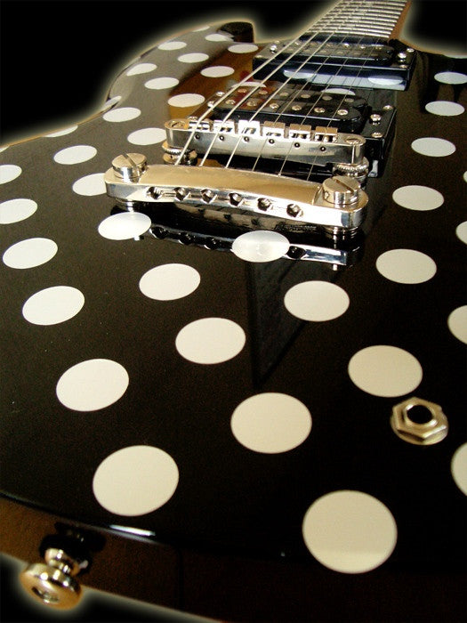 Randy Rhoads Polka Dots - Inlay Stickers Jockomo