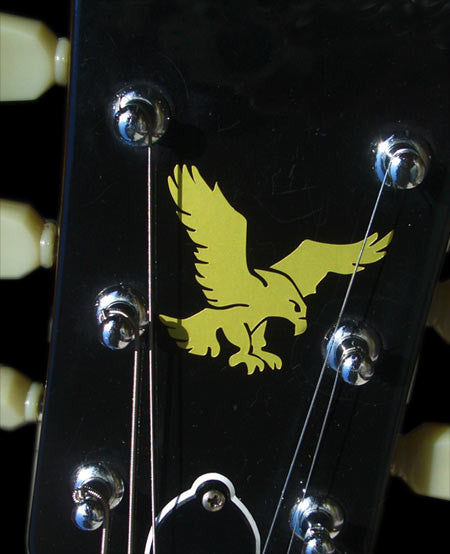 Jerry Garcia's Eagle (Gold) - Inlay Stickers Jockomo