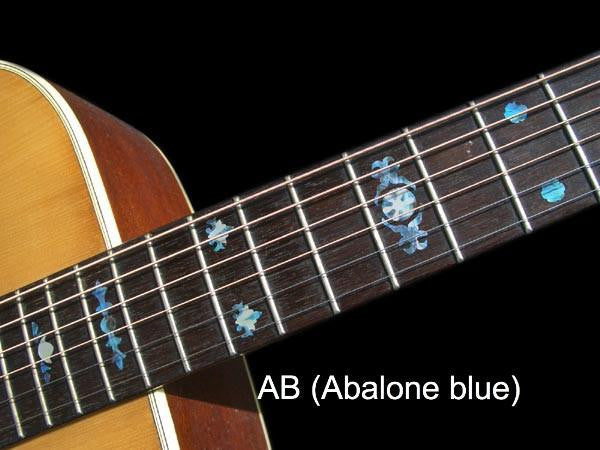 Aged Banjo Type Fret Markers Inlay Stickers Decals Inlay