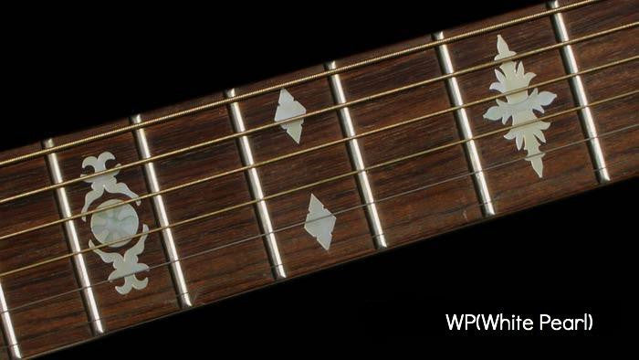Aged Banjo Type Fret Markers Inlay Stickers - Inlay Stickers Jockomo