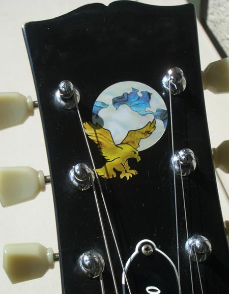 Jerry Garcia's Eagle - Earth Grateful Dead - - Inlay Stickers Jockomo