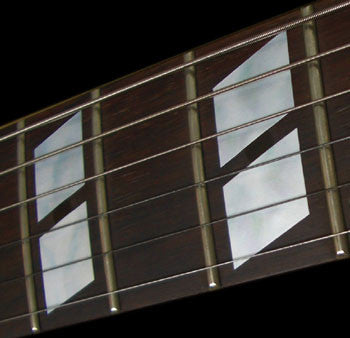 Double-Parallelogram 175 Style Block Fret Markers - Inlay Stickers Jockomo