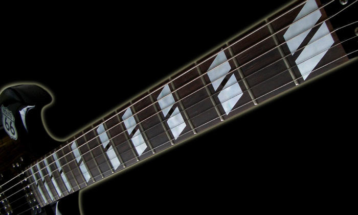 Double-Parallelogram 175 Style Block Fret Markers Inlay Stickers for Guitars - Inlay Stickers Jockomo