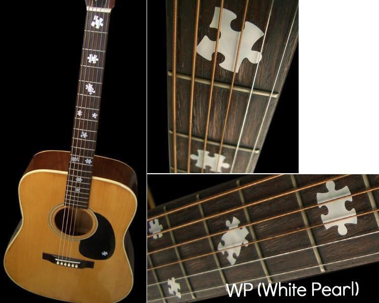 Puzzle Pieces Fretboard Markers Inlay Stickers Decals - Inlay Stickers Jockomo