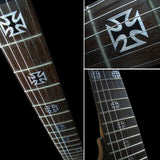 Iron Cross(Metallic) Fret Markers Inlay Stickers Decals
