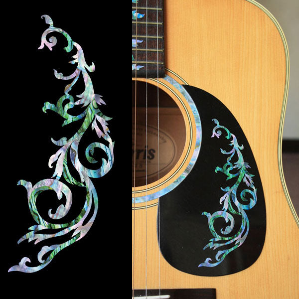Gothic Line DS - Abalone Mix - Inlay Stickers Jockomo