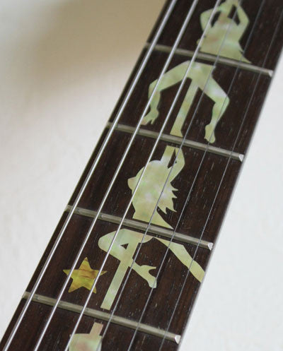 DIVA / Pole Dance Girls - Fret Markers for Guitars - Inlay Stickers Jockomo