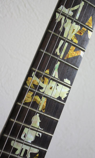 DIVA / Pole Dance Girls - Fret Markers Inlay Stickers Decals for Guitar - Inlay Stickers Jockomo