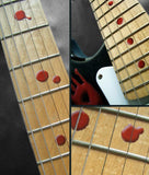 Bloody Dots Fret Markers Inlay Stickers Decals