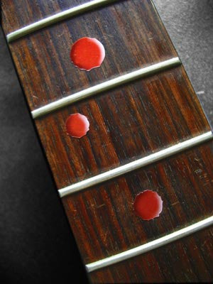 Bloody Dots Fret Markers Inlay Stickers Decals - Inlay Stickers Jockomo